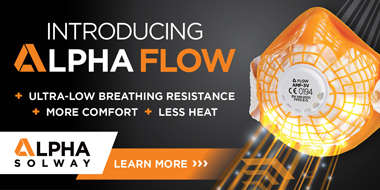 Alpha Flow - the new generation of disposable respirator