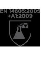 En14605 2005+A1+2009(Beaker) Cmbh-Ew-R Chemsol Plus Alpha Solway Chemsuit