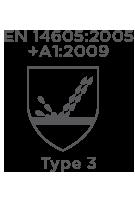 En14605 2005 A1+2009 Type3(Bounce Rain) Cmbh-Ew-R Chemsol Plus Alpha Solway Chemsuit