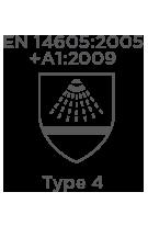 En14605 2005 A1+2009 Type4(Shower) Cmbh-Ew-R Chemsol Plus Alpha Solway Chemsuit
